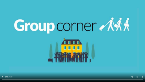 Video di presentazione Groupcorner