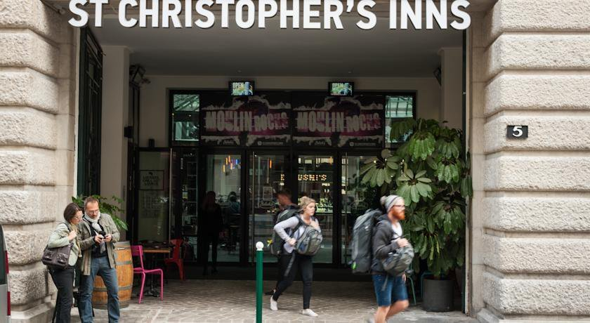 Group Booking St Christopher's Inn Gare Du Nord